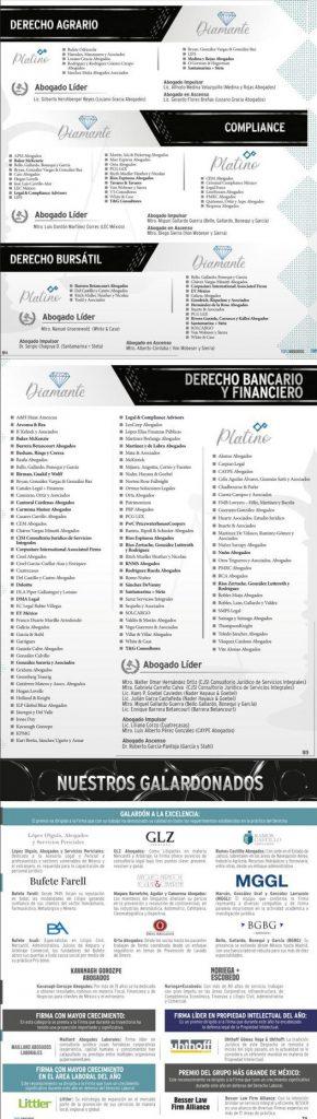 Los Mejores Abogados en México 2021